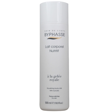Byphasse Body Milk 500g Royal Jelly Dry Skin