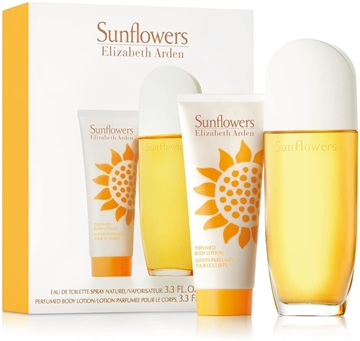 Elizabeth Arden Sunflowers Eau de Toilette Spray 100ml Body Lotion 100ml