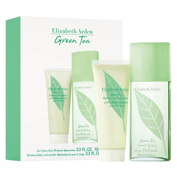 Elizabeth Arden Green Tea Scent Eau Parfumee Spray 100ml Refreshing Body Lotion 100ml