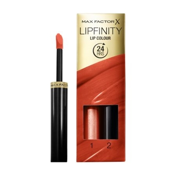 Max Factor Lipfinity Lip Colour 24 Hrs 140 Charming  - 1 Step 2,3ml/2 Step 1,9gr 4,2 ml
