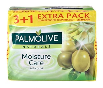 Palmolive bar soap 90 gr. 3+1.Olive.