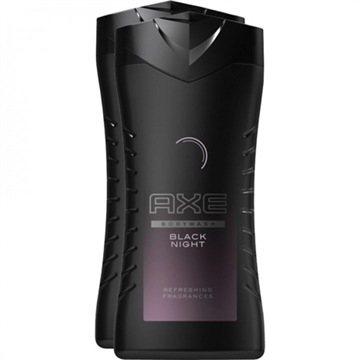 Axe Duschgel 2x250ml Black Night