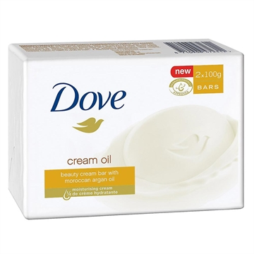 Dove Soap Creme Oil 2Pk 100Gm
