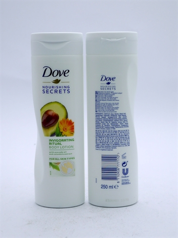 Dove Lotion Invigorating Avocado & Calendula 250ml