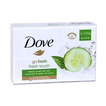Dove Bar Soap 2X100G Go Fresh Cucumber