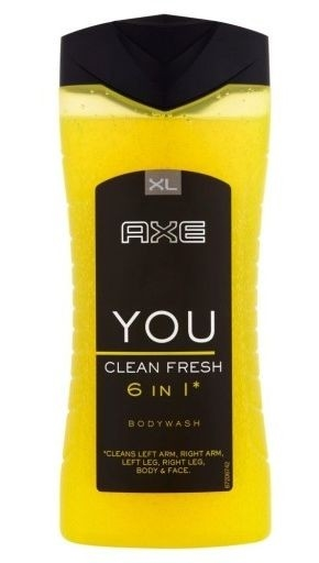 Axe You Clean Fresh 6 In 1 Shower Gel 400 ml