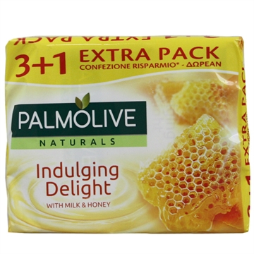Palmolive Bar Soap 90 Gr 3+1 Milk & Honey