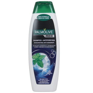 Palmolive Anti-Dandruff Shampoo 350 ml Men Menthol Fresh