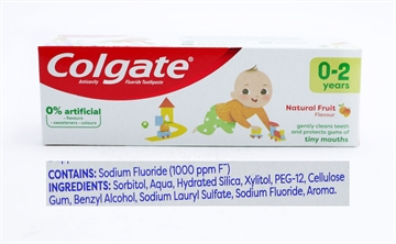 Colgate Toothpaste Kids Mild Fruit 0-2Yrs  50ml