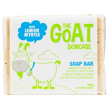 Goat Soap Lemon Myrtle 100G