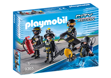 Playmobil SEK-Team 9365