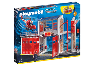 Playmobil Stor brandstation 9462