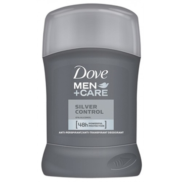 DOVE MEN STICK CARE SILVER CONTROL 50ML