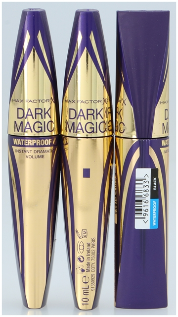 Max Factor Dark Magic Mascara Black WP 10 ml