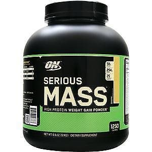 Optimum Nutrition Serious Mass 2.72kg banana