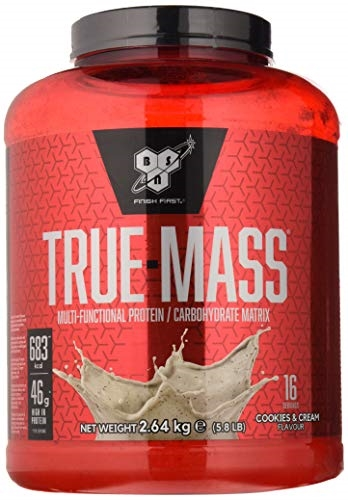 BSN True Mass 2,64kg cookies & cream