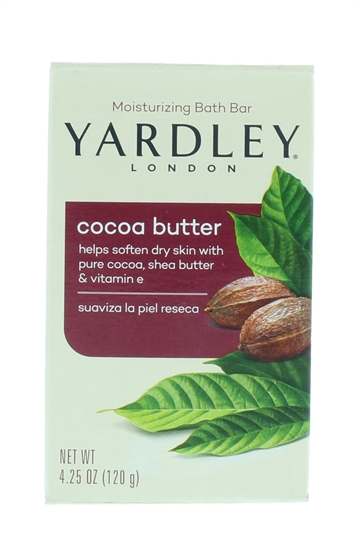 Yardley 120G Soap Cocoa Butter Boxed