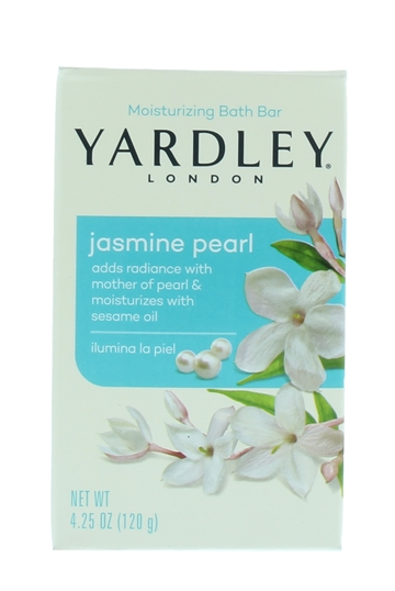 Yardley 120G Soap Jasmine Pearl Boxed