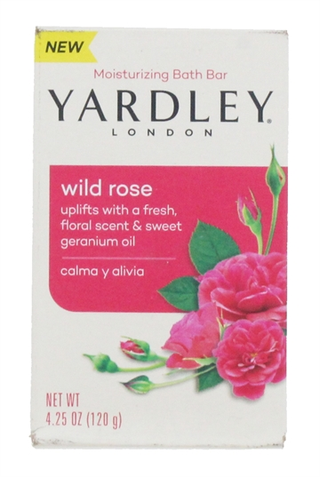Yardley 120G Soap Wild Rose Boxed