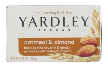 Yardley 120G Soap Oatmeal & Almond Boxed