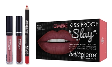 Bellapierre Lip Kit 40'S Red Ombre 3 Piece