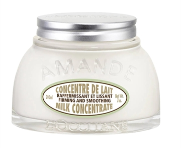 L'OCCITANE 200ML BODY CREAM FIRMING AND SMOOTHING ALMOND MILK CONCENTRATE