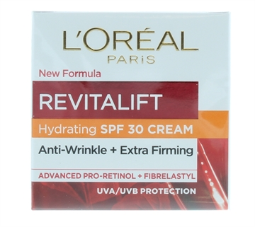 L'OREAL REVITALIFT 50ML DAY CREAM SPF30 ANTI-WRINKLE & EXTRA FIRMING