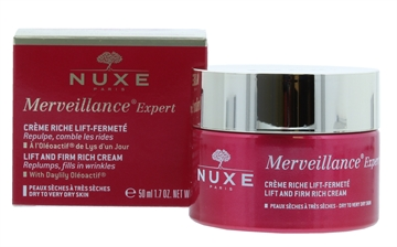 Nuxe 50ml Merveillance Expert Cream Lift & Firm Riche Dry Skin