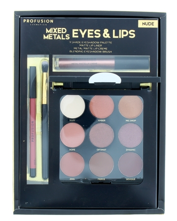 Profusion Eyes & Lips Set 4Pc Nude