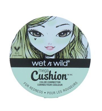 Wet N Wild Mega Cushion Color Corrector Green