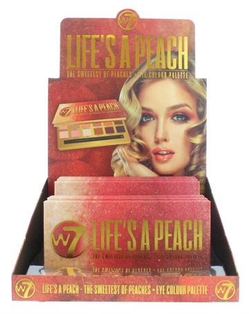W7 Eye Palette Life'S A Peach 12&Duo