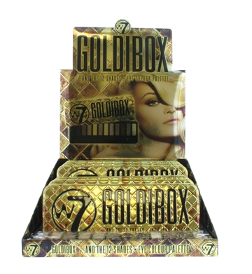 W7 Goldibox Eye Colour Tin 12 Shades