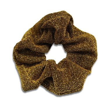 Everneed JoJo Shimmer Scrunchie – golden