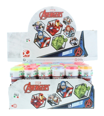 Avengers 60ml Bubbles