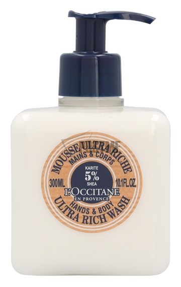 L'Occitane Shea Butter Ultra Rich Hand & Body Wash 300ml
