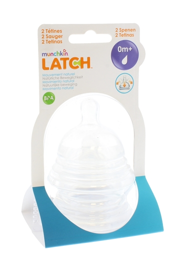 Munchkin Latch Stage 1 Teats 2Pack For