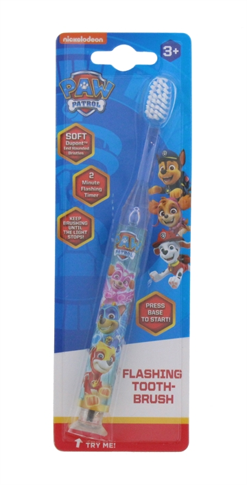 Paw Patrol Flashing Soft Toothbrush 3+