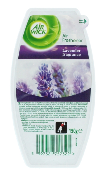 Airwick 150G Odour Stop Gel Lavender Lab