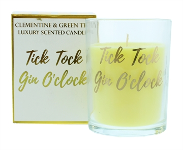 Candlelight 220G Gin Gold Candle