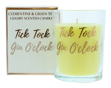 Candlelight 220G Gin Rose Gold Candle