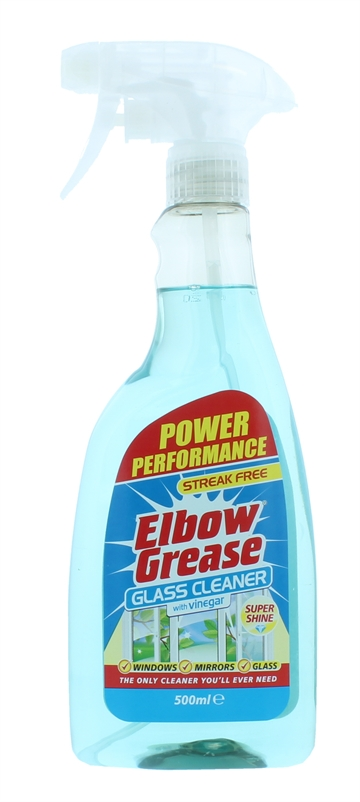 Elbow Grease 500ml Glass Cleaner