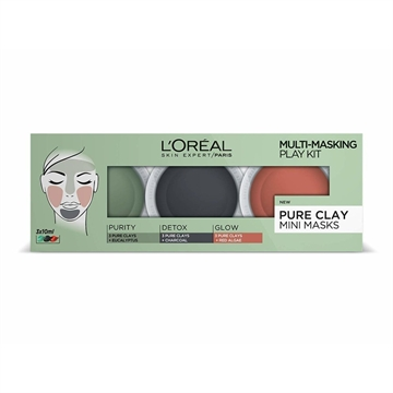 L'Oreal Paris Skin Expert Pure Clay ansiktsmask 10 ml