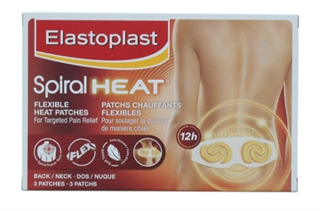 Elastoplast Heat Patch 3Pack