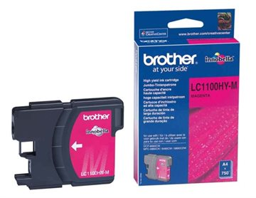 Brother LC1100HYM Magenta Bläckpatron, 700 sider