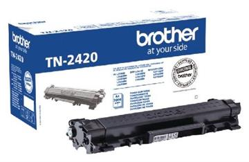 Brother TN-2420 Svart Lasertoner, 3.000 sider