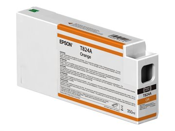 Epson T824A C13T824A00 Orange Bläckpatron, 350 ml