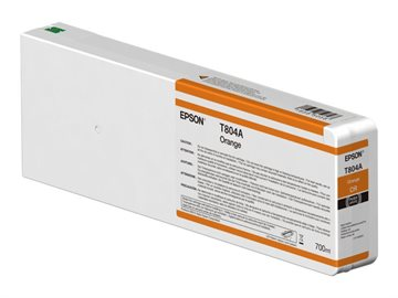 Epson T804A C13T804A00 Orange Bläckpatron, 700 ml
