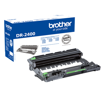 Brother DR-2400 Svart Drum, 12.000 sider
