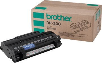 Brother DR-200 Svart Drum, 8.000 sider