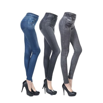 Leggings Jeggings Skinny Denimtryck